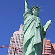 Statue Of Liberty Replica In Las Vegas Art Print