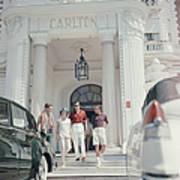 Staying At The Carlton Art Print