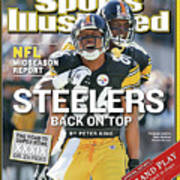 Steelers Back On Top Nfl Midseason Report Sports Illustrated Cover Art Print