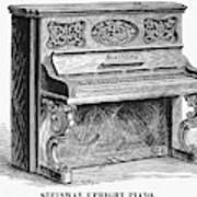 Steinway Piano, 1878 Art Print