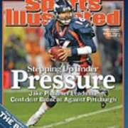 Stepping Up Under Pressure Jake Plummer Leads The Confident Sports Illustrated Cover Art Print