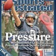 Stepping Up Under Pressure Matt Hasselbeck Leads The Sports Illustrated Cover Art Print
