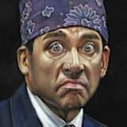 239a3db25 Steve Carell Michael Scott Prison Mike Office Painting by Argo