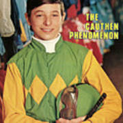 Steve Cauthen, Horse Racing Jockey Sports Illustrated Cover Art Print