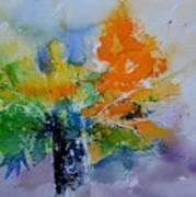 Still Life Watercolor 549110 Art Print