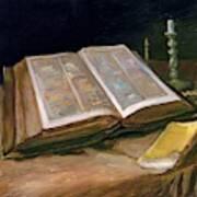 Still Life With Bible - Digital Remastered Edition Art Print