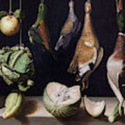 Still Life With Game Fowl Art Print