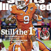 Still The 1, But Clemson Hasnt Had A Test Like The Rolling Sports Illustrated Cover Art Print