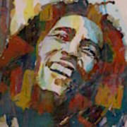 Stir It Up - Retro - Bob Marley Art Print