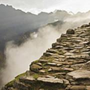 Stone Inca Trail Art Print