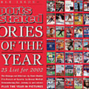 Stories Of The Year The Top 25 List For 2002... Sports Illustrated Cover Art Print