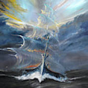 Storm Creators Beaufort Sea Art Print