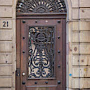Strasbourg Door 11 Art Print