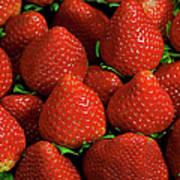 Strawberry Cliche Art Print