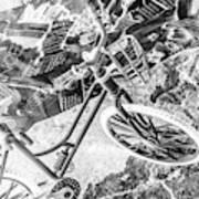 Street Cycles Art Print