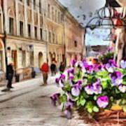 street Helsinki Finland Art Print