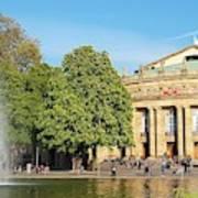 Stuttgart Opera House Art Print