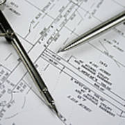 Subdivision Development Planning Art Print