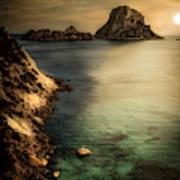 Summer In Ibiza Art Print