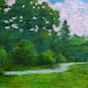 Green Summer  Art Print