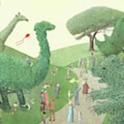 Summer Park Art Print