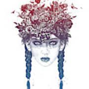 Summer Queen Art Print