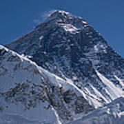 Summit Of Mt Everest8850m Great Details Art Print