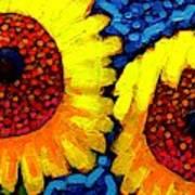 Sunlover Quintet  Art Print