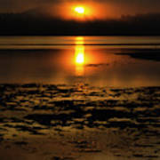 Sunrise Rathtrevor Beach 6 Art Print