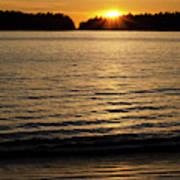 Sunset Beach Vancouver Island 2 Art Print