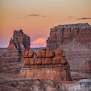 Sunset In Southern Utah Art Print