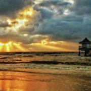 Sunset On The Gulf Art Print