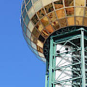 Sunsphere In Knoxville, Tn Art Print