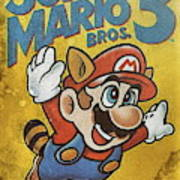 Super Mario Bros 3 Nintendo Nes Digital Art By Benjamin Dupont