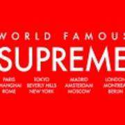 Supreme World Wide by Melanin Gold