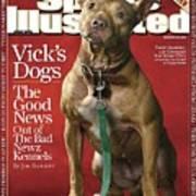 Sweet Jasmine, Michael Vicks Pit Bull Dogs Sports Illustrated Cover Art Print