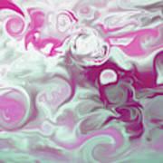 Swirly Skies Art Print