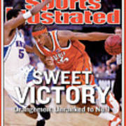 Syracuses Carmelo Anthony, 2003 Ncaa National Championship Sports Illustrated Cover Art Print