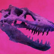 T-rex Art Print