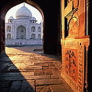 Taj Mahal, Agra India Art Print