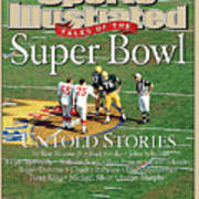 Tales Of The Super Bowl Untold Stories Sports Illustrated Cover Art Print