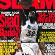 Talkin' Rock with Shaq Daddy SLAM Cover Art Print