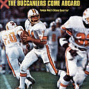 Tampa Bay Buccaneers Qb Steve Spurrier... Sports Illustrated Cover Art Print