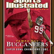 Tampa Bay Buccaneers, Super Bowl Xxxvii Champions Sports Illustrated Cover Art Print