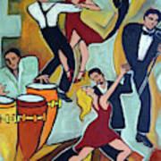 Tango Terroso 1 Art Print