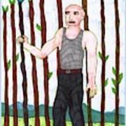 Tarot Of The Younger Self Nine Of Wands Art Print