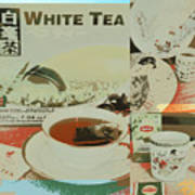 Tea Collage Poster Art Print