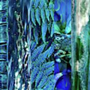 Teal Abstract Art Print