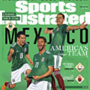 Team Mexico, World Cup 2018 Preview Sports Illustrated Cover Art Print