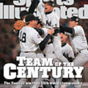 Team Of The Century 1999 World Series Champions Sports Illustrated Cover Art Print